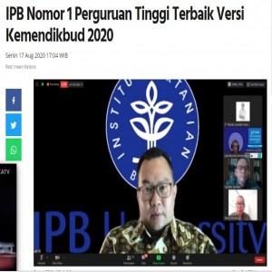 Salam Inovasi untuk IPB University !