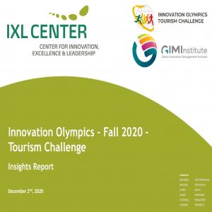 """""""Membangunkan"""" Turisme Di Tengah Pandemi Global:               Innovation Olympics-2020"""