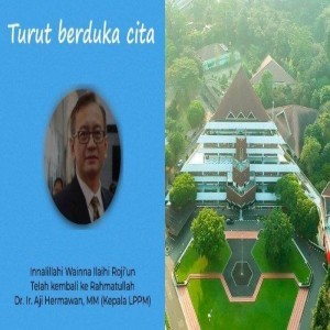 OBITUARI : Mengenang Dr. Ir. Aji Hermawan MM